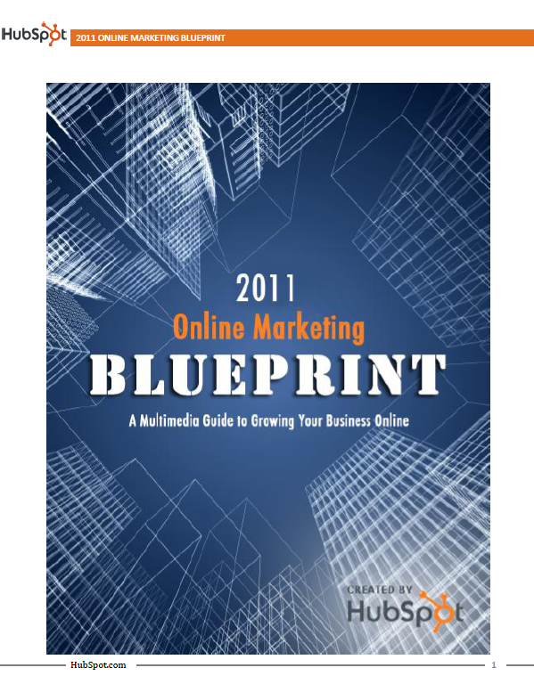 2011 Online Marketing Blueprint
