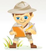 Scout Social Media Examiner Mascot