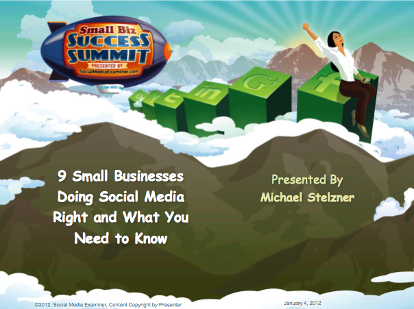 Social Media Examiner Webinar PDF
