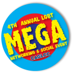 CAGLCC 4th Annual LGBT Mega Networking and Social Event Logo