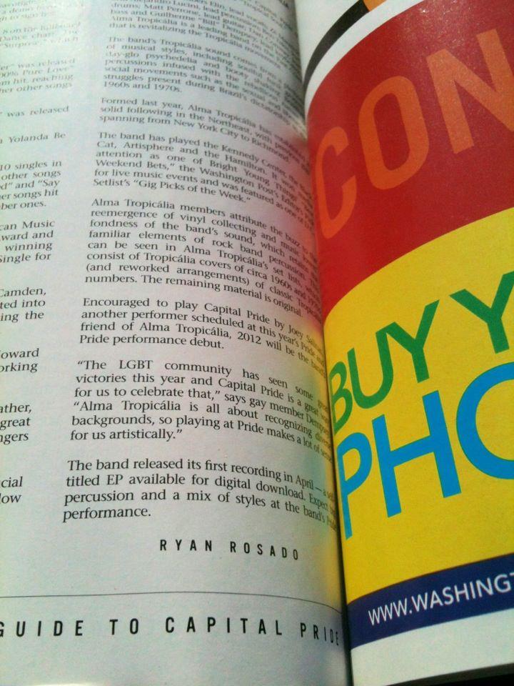 2012 Capital Pride Guide Ryan Rosado