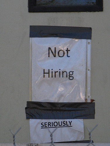 Not Hiring Seriously