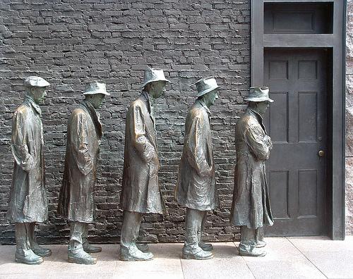 Unemployment Line Picture