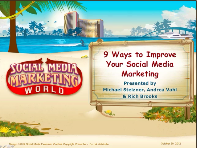 9 Ways to Improve Your Social Media Marketing Cover Photo