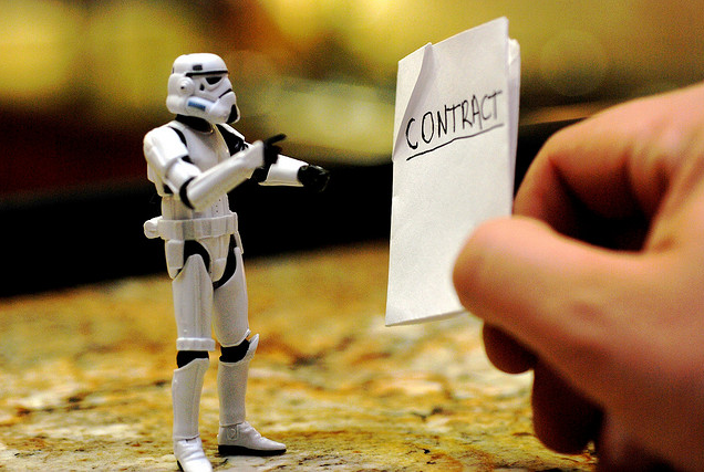 Star Wars Contract
