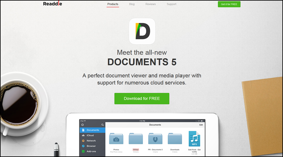 Readdle Documents Screenshot